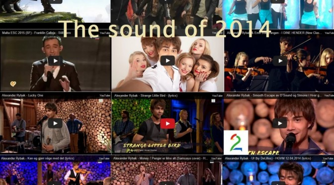 The Sound of 2014 – Alexander Rybak som komponist og artist